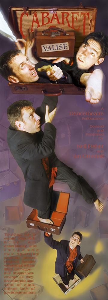 Cabaret Valise z-fold Poster