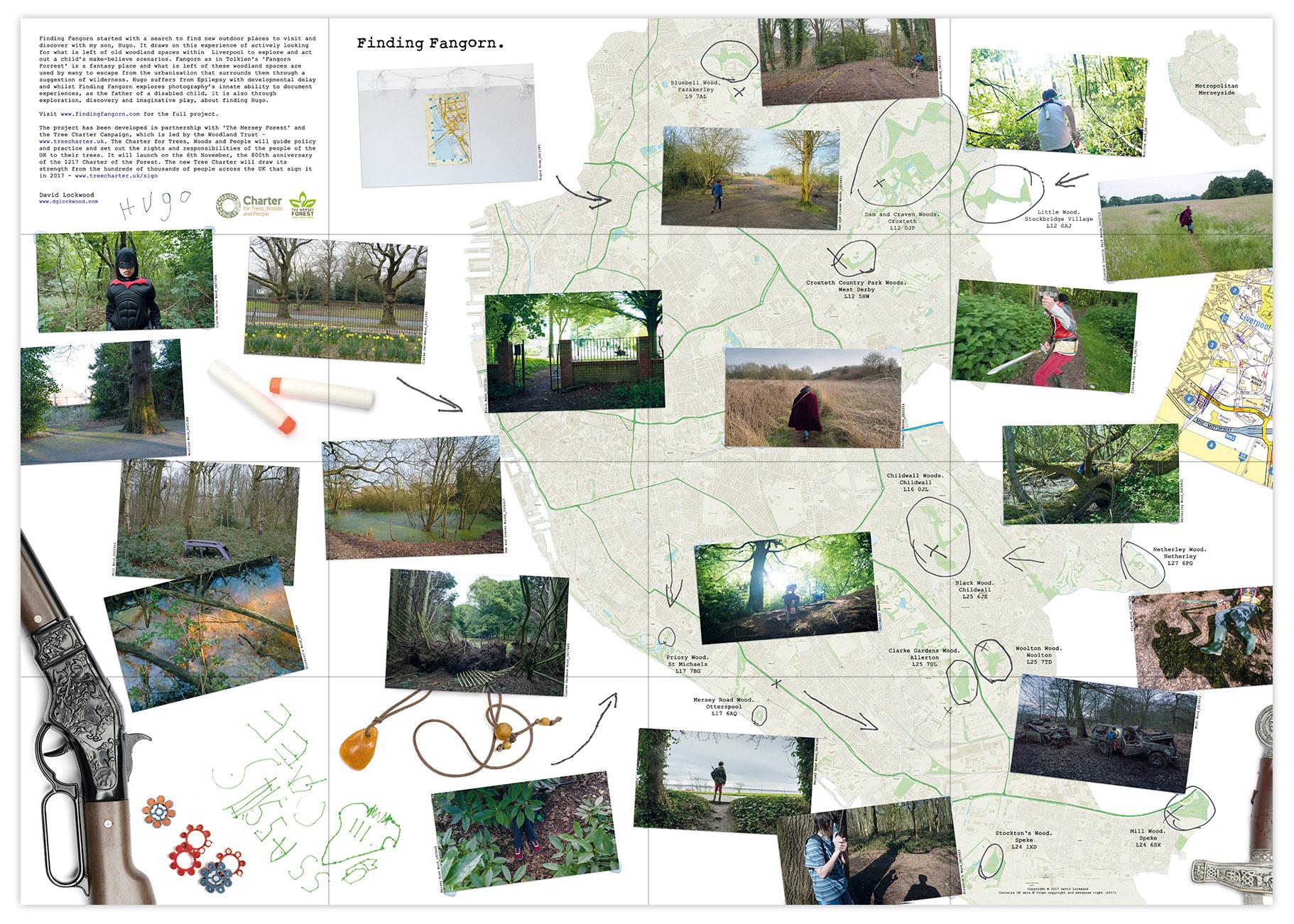 Finding Fangorn Folded Map Image